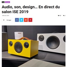 Audio, son, design… En direct du salon ISE 2019